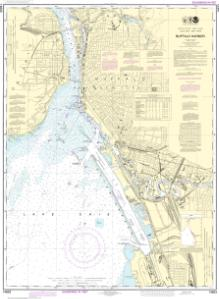 thumbnail for chart Buffalo Harbor