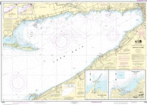 thumbnail for chart Buffalo to Erie;Dunkirk;Barcelone Harbor