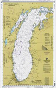 thumbnail for chart MI,1997,Lake Michigan
