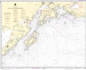 thumbnail for chart Cape St. Elias to Shumagin Islands;Semidi Islands