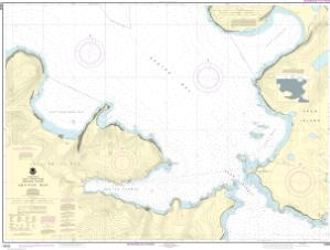 thumbnail for chart Akutan Bay, Krenitzin Islands