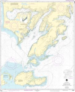 thumbnail for chart Kodiak Island Sitkinak Strait and Alitak Bay