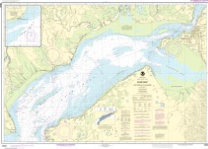 thumbnail for chart Cook Inlet-East Foreland to Anchorage;North Foreland