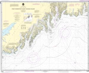 thumbnail for chart Point Elrington to East Chugach Island