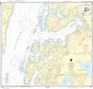 thumbnail for chart Drier Bay, Prince William Sound