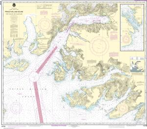 thumbnail for chart Prince William Sound-Port Fidalgo and Valdez Arm;Tatitlek Narrows