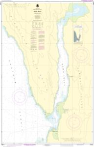 thumbnail for chart Hawk Inlet, Chatham Strait