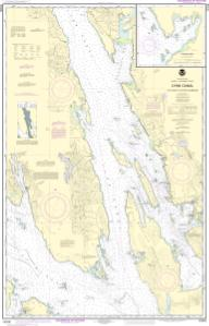 thumbnail for chart Lynn Canal-Icy Str. to Point Sherman;Funter Bay;Chatham Strait