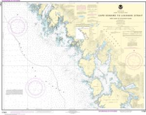 thumbnail for chart Cape Edward to Lisianski Strait, Chichagof Island