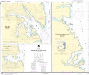 thumbnail for chart Harbors in Chatham Strait Kelp Bay;Warm Spring Bay;Takatz and Kasnyku Bays