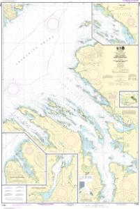 thumbnail for chart Keku Strait-northern part, including Saginaw and Security Bays and Port Camden;Kake Inset