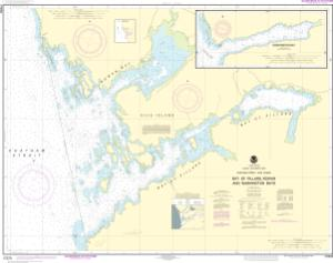 thumbnail for chart Bay of Pillars and Rowan Bay, Chatham Strait;Washington Bay, Chatham Strait