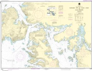 thumbnail for chart Northern part of Tlevak Strait and Uloa Channel