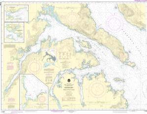 thumbnail for chart Kasaan Bay, Clarence Strait;Hollis Anchorage, eastern part;Lyman Anchorage