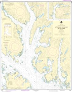 thumbnail for chart N. end of Cordova Bay and Hetta Inlet