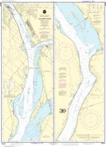 thumbnail for chart Columbia River Juniper to Pasco
