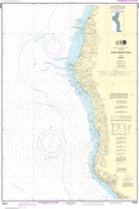 thumbnail for chart Cape Mendocino and vicinity