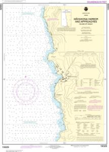 thumbnail for chart Mähukona Harbor and approaches Island Of Hawai'i