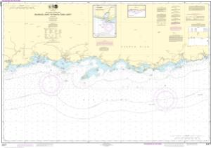 thumbnail for chart South Coast of Puerto Rico Guanica Light to Punta Tuna Light;Las Mareas