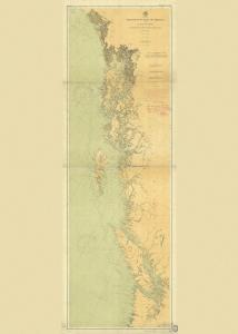 thumbnail for chart WA,1901,NW Coast of America - Olympia, Wash.