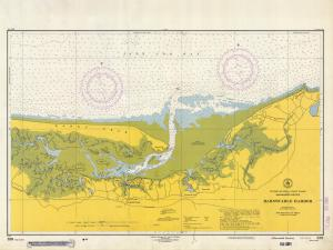 thumbnail for chart MA,1954, Barnstable Harbor