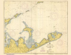 thumbnail for chart NY,1951, Block Island Sound and Gardiners Bay