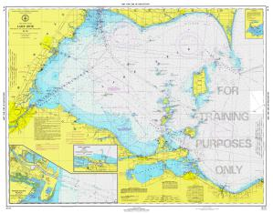 thumbnail for chart West End Of Lake Erie Training Chart