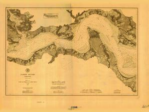 thumbnail for chart VA,1882,James River