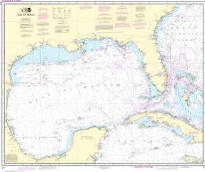 Thumbnail For Chart Gulf Of Mexico