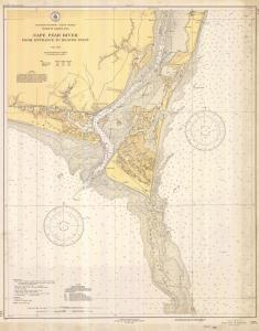 thumbnail for chart NC,1936,Cape Fear River