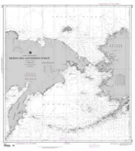 thumbnail for chart Bering Sea and Bering Strait