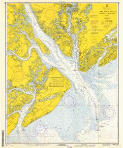 thumbnail for chart SC,1968,Port Royal Sound and Inland Passages