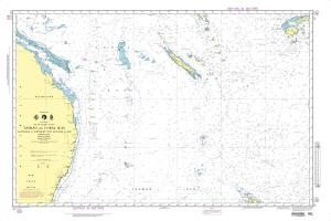 thumbnail for chart Tasman and Coral Seas-Australia to Northern New Zealand and