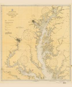 thumbnail for chart VI,1933,Chesapeake Bay Northern Part