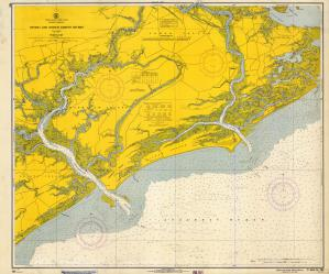 thumbnail for chart SC,1966,Stono And North Edisto Rivers