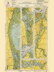 thumbnail for chart SC,1952,McClellanville To Wadmalaw River