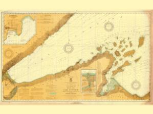 thumbnail for chart MN,1924,Lake Superior Apostle Islands