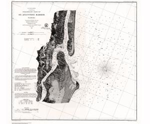thumbnail for chart FL,1861, St. Augustine Harbor
