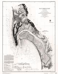 thumbnail for chart CA,1872, Nautical Chart of San Diego Bay