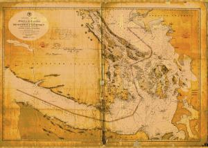 thumbnail for chart WA,1874,Strait of Juan De Fuca