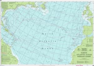 Nautical charts online chart imray 100 north atlantic ocean