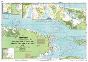 thumbnail for chart San Juan to Isla de Vieques and Isla de Culebra