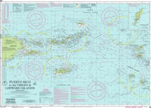 thumbnail for chart Puerto Rico to the Virgin and Leeward Islands