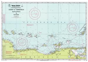 thumbnail for chart Gulf of Paria to Curaçao