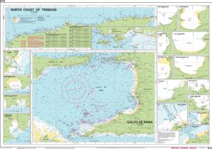 thumbnail for chart North Coast of Trinidad and Golfo de Paria