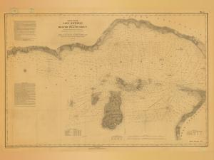 thumbnail for chart MI,1855,North End Lake Michigan Including Beaver Island