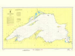 thumbnail for chart WI,1970,Lake Superior