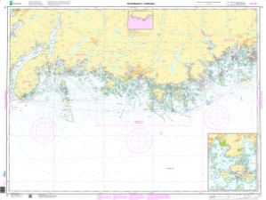 thumbnail for chart Ny-Hellesund - Lindesnes